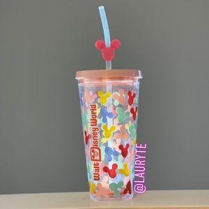 Disneyworld Pink Mickey Mouse Multicolored Balloon